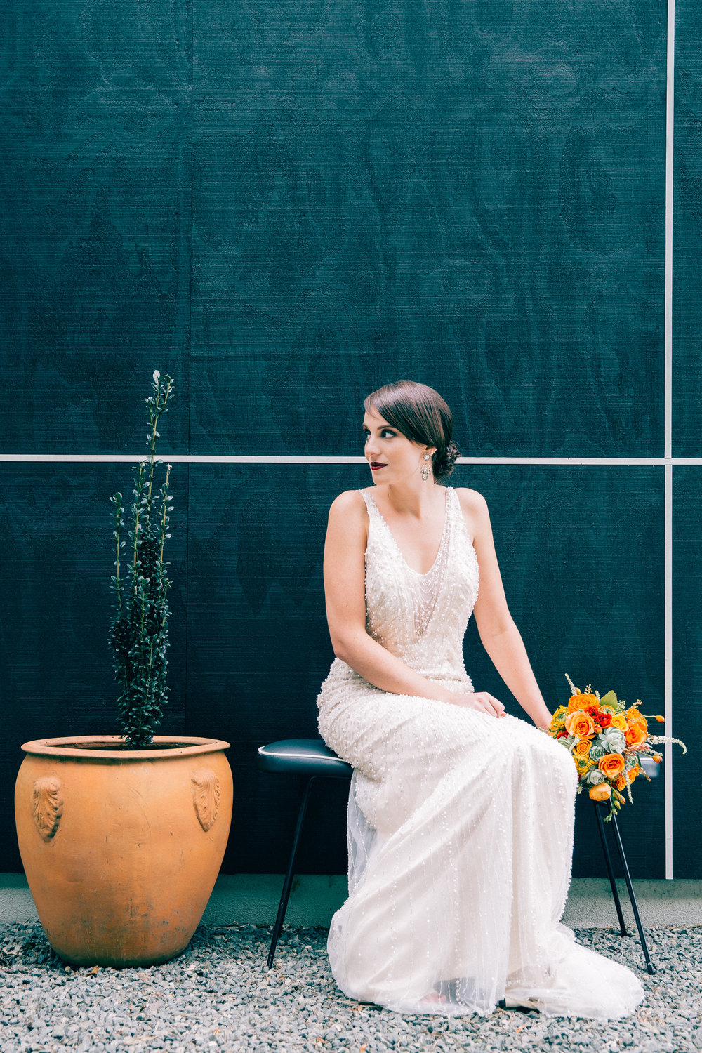 Modern bride inspiration | photography by Tinted | Dress from Astra Bridal | www.borrowedandblue.kiwi