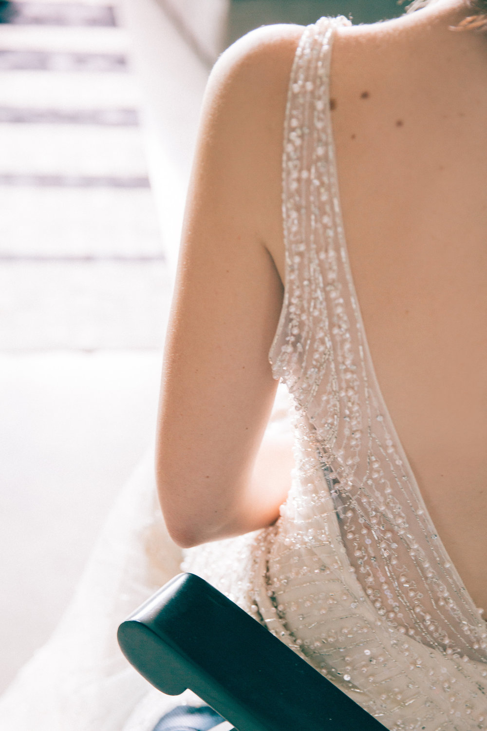 Stunning wedding dress illusion back | Modern bride inspiration | photography by Tinted | Dress from Astra Bridal | www.borrowedandblue.kiwi