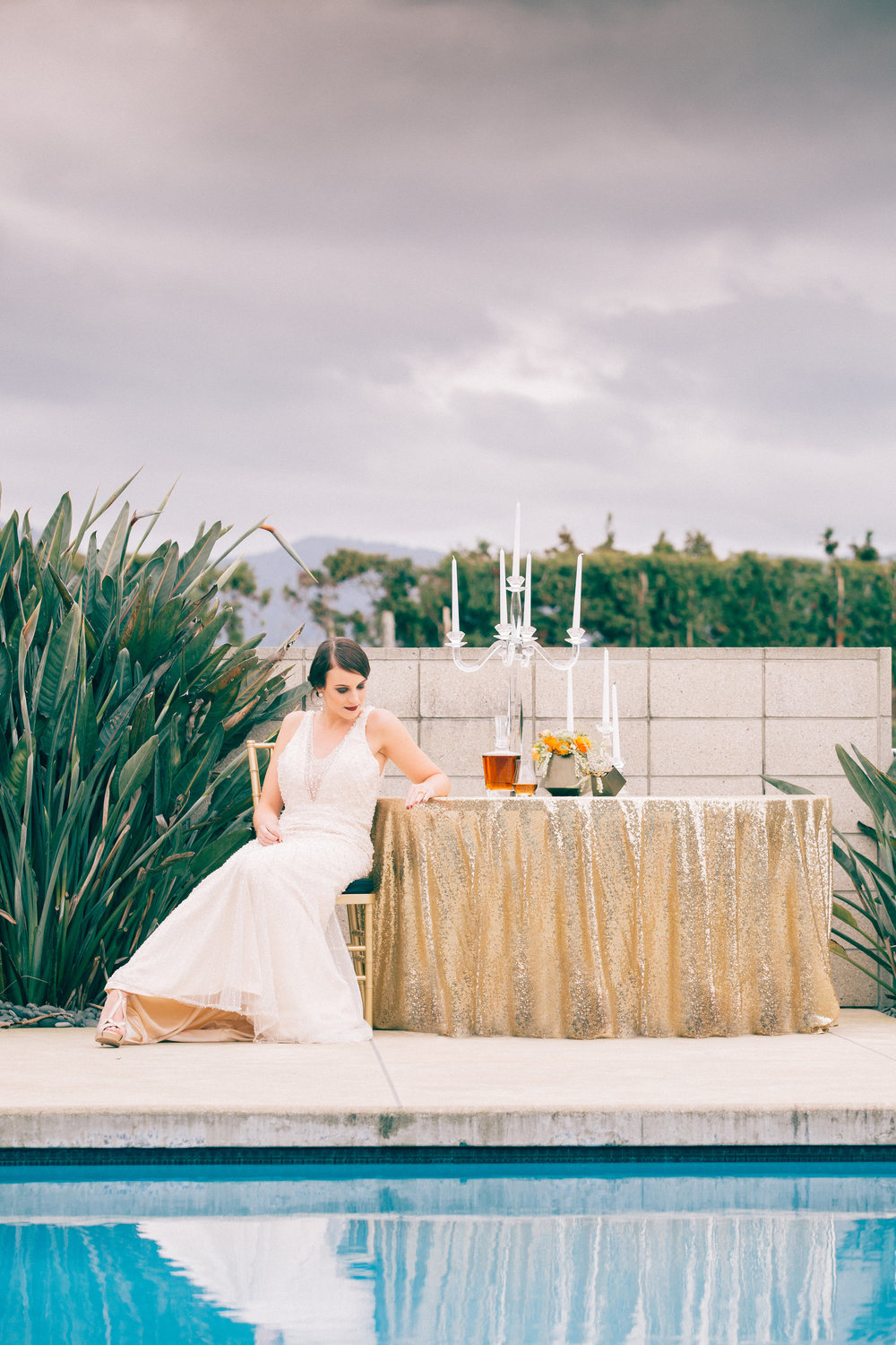 Glam wedding | Modern bride inspiration | photography by Tinted | Dress from Astra Bridal | www.borrowedandblue.kiwi