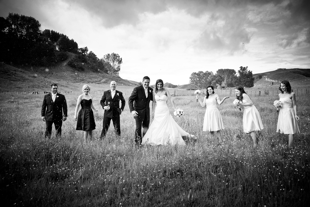 Country wedding photo inspiration | Gown by Astra Bridal | bride Portia | Brad Boniface Photographic Artist | www.borrowedandblue.kiwi