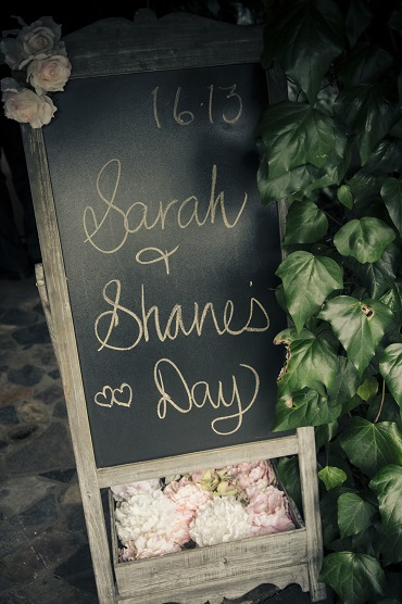 Cute wedding sign | Astra Bride Sarah | Gown by Astra Bridal | Photography by Amanda Wignell | www.borrowedandblue.kiwi