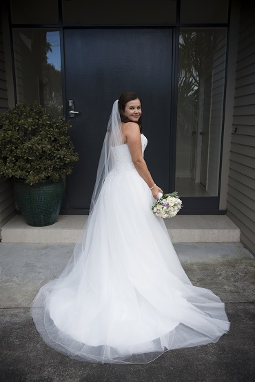 Astra Bride Sarah | Gown by Astra Bridal | photography by Amanda Wignell | www.borrowedandblue.kiwi