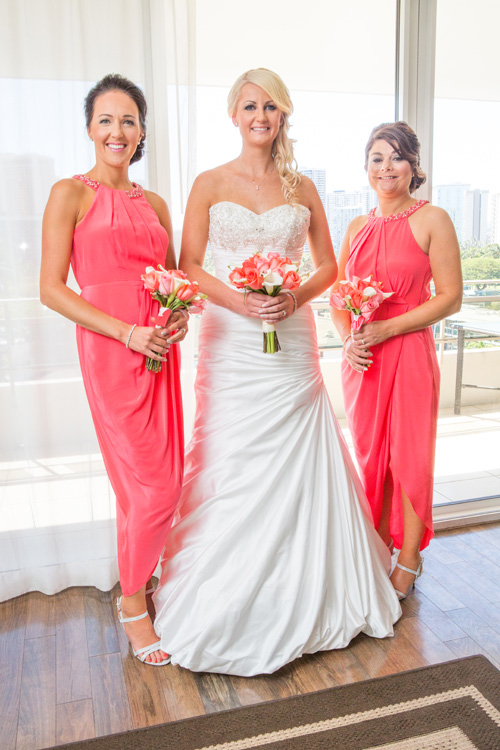 Coral wedding theme | Astra Bride Kelly | Maggie Sottero Adeline Marie |