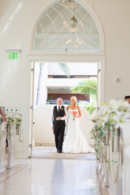 Entering the church | Astra Bride Kelly | Maggie Sottero Adeline Marie |
