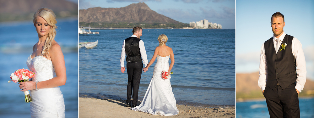 Hawaiian wedding location | Astra Bride Kelly | Maggie Sottero Adeline Marie |