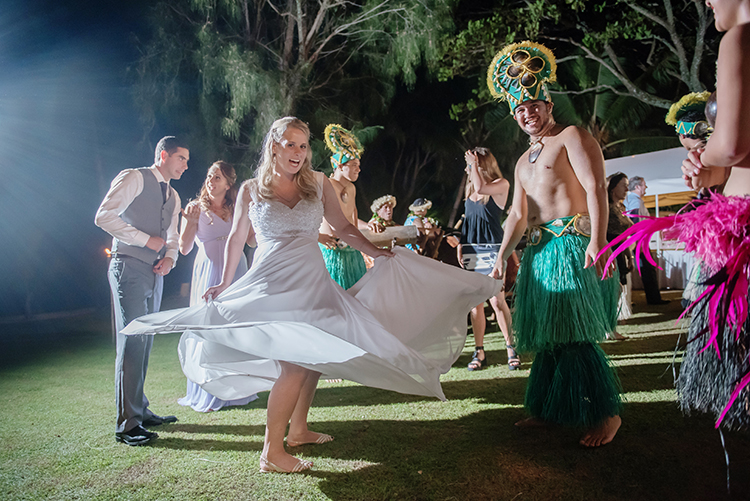 Rarotongan wedding | Astra Bride Lauren | Noir Wedding photography