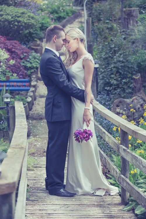 | Garden Wedding | Astra Bride Heleina | Maggie Sottero Gown |