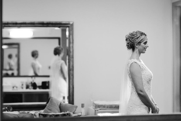 Excited Anticipation | Astra Bride Jacqui prepares herself for the ceremony |