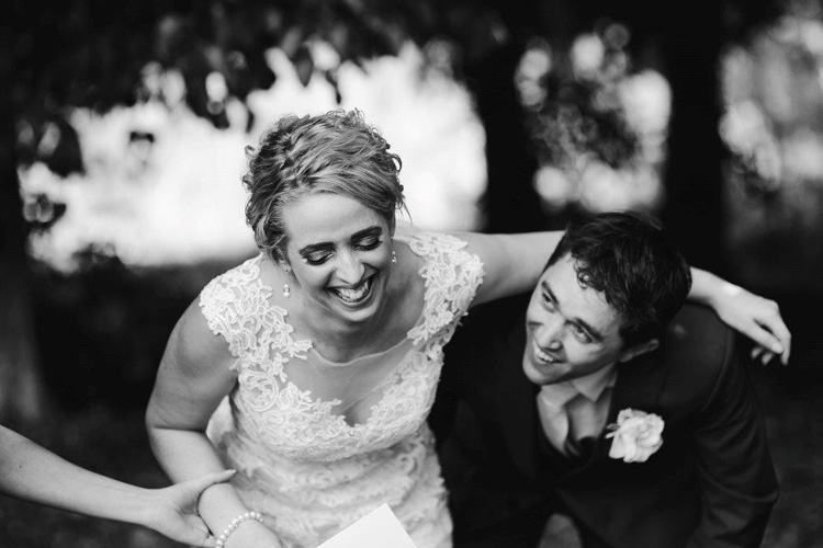 Astra Bride Jacqui | Her wedding to Richard was a day of laughter and fun.