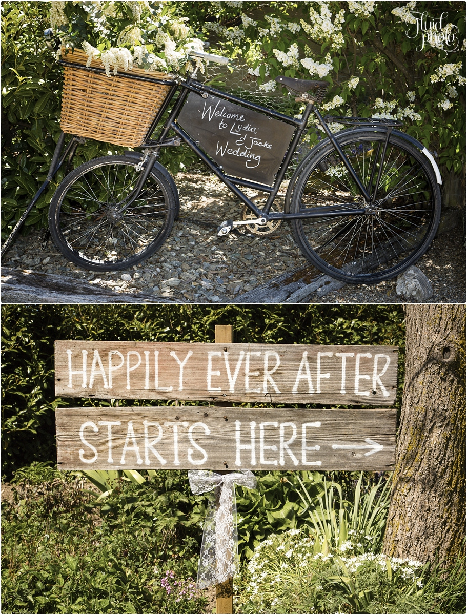 Cute wedding signs | Vintage wedding inspiration | Behind the scenes shoot by Fluidphoto | www.borrowedandblue.kiwi