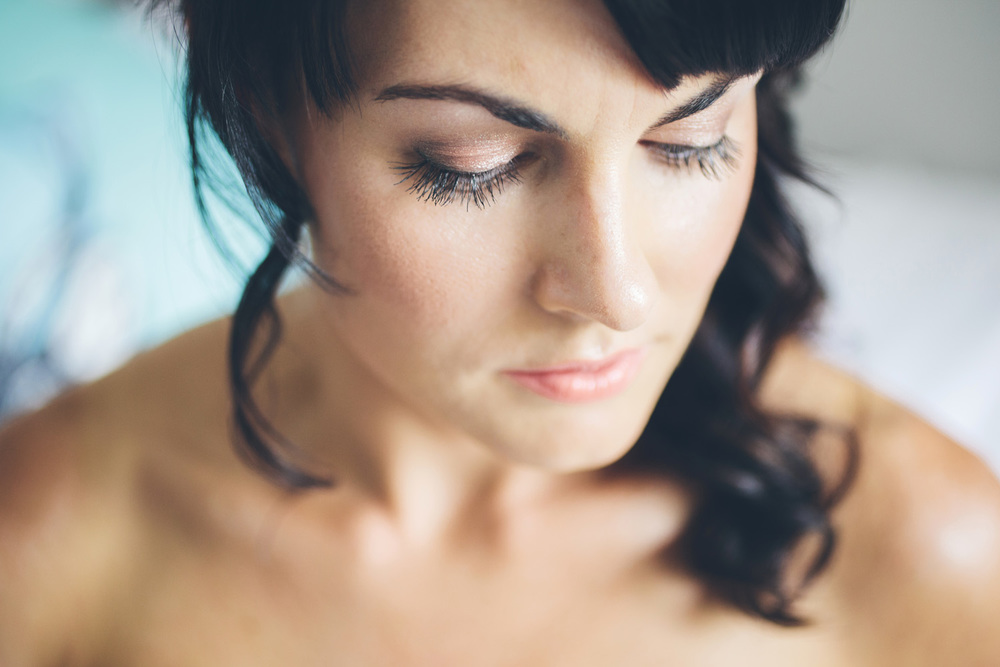 Stunning makeup | Astra Bride Rochelle | Christina Rossi Gown | Photography by Jo Currie |