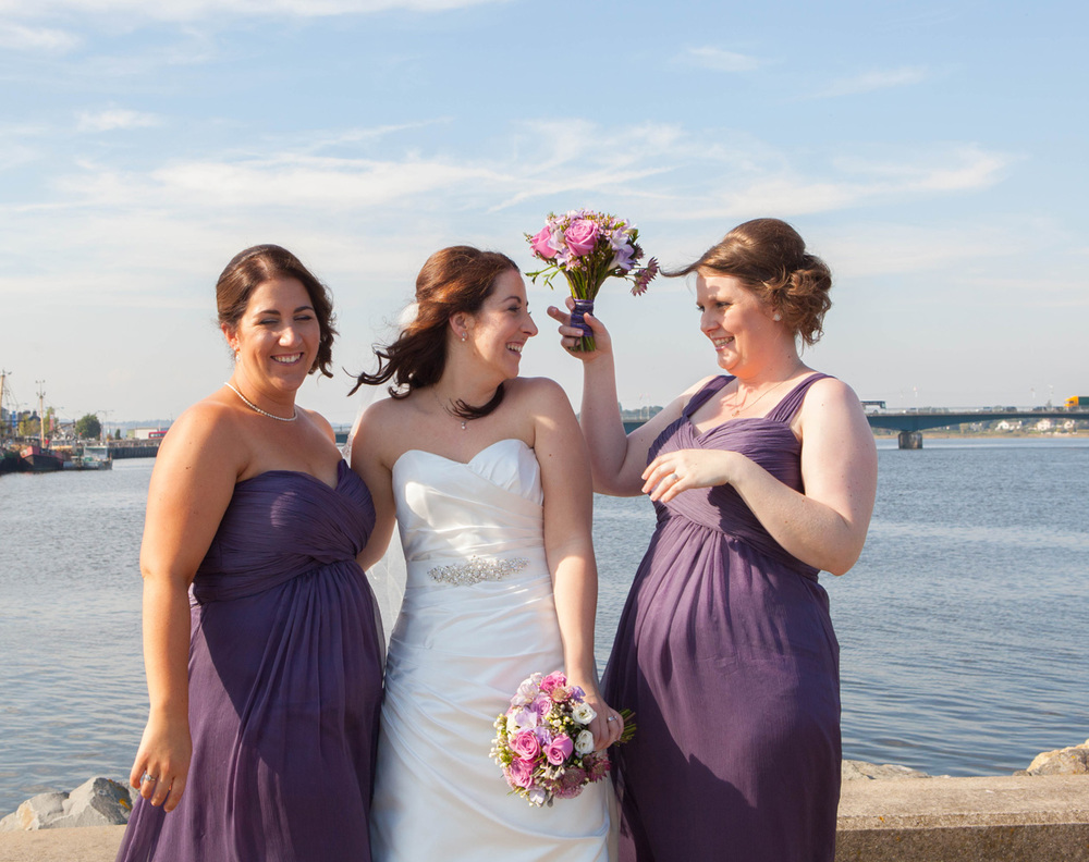 Purple Bridesmaids | Irish wedding | Christina Rossi Gown | Astra Bride Jenny |