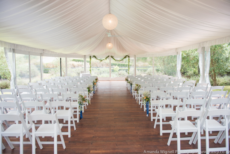 The beautiful bracu pavilion | Astra bride Ariana | Photography Amanda Wignell |