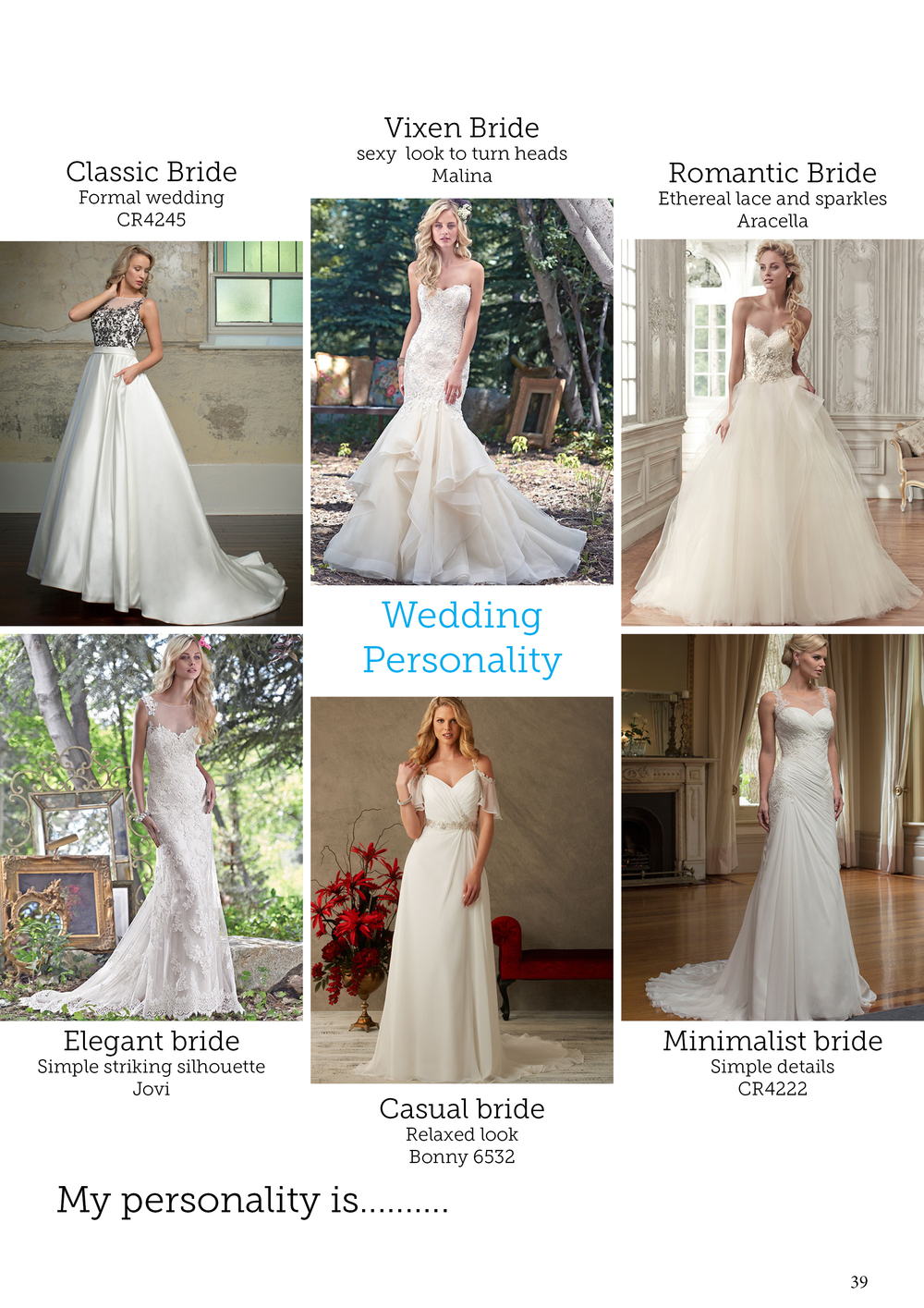 Bridal personality | Bridal advice brought to you by Astra Bridal | www.borrowedandblue.kiwi