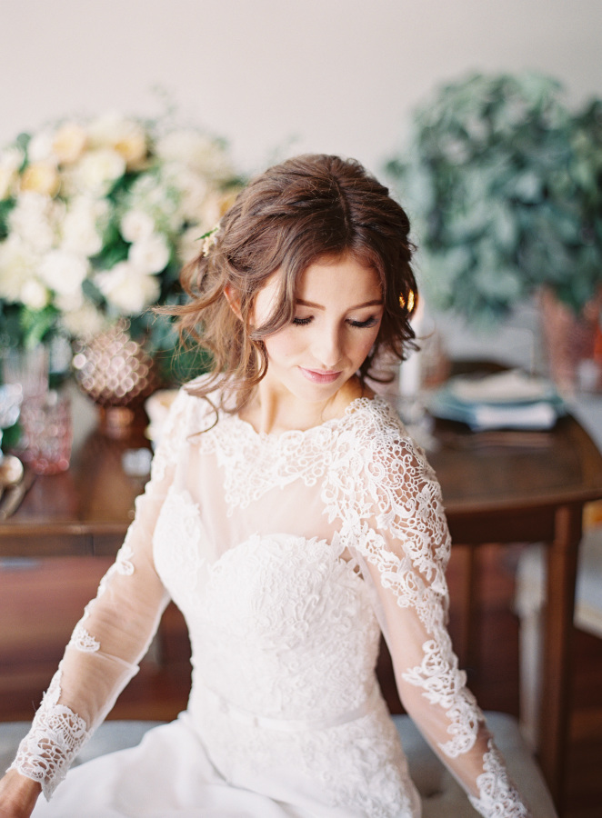 Maggie Sottero styled shoot | Rose gold wedding shoot | brought to you by www.borrowedandblue.kiwi