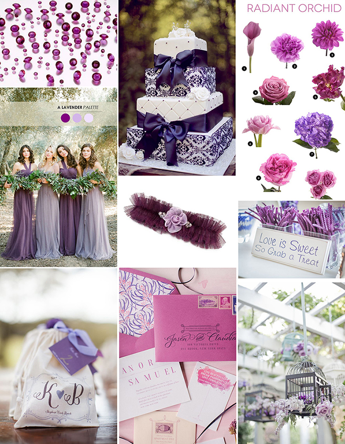 Look no further for Colour inspiration for your wedding