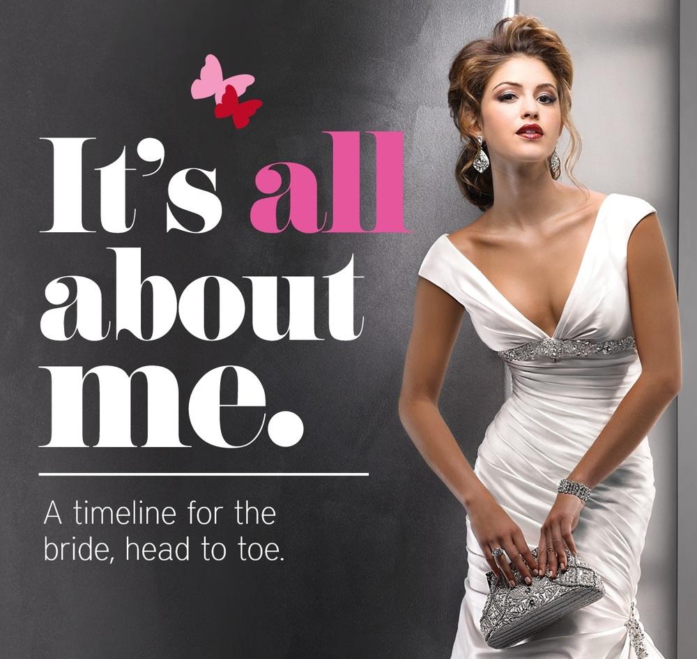 Bridal timeline planner
