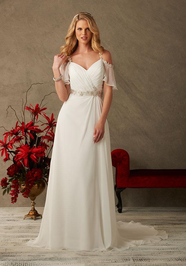 Bonny 6532 | Relaxed boho ideal for a beach wedding