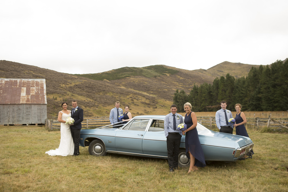 Classic car | Astra Bride Jess | Hanmer Springs Wedding | Maggie Sottero Emma gown | Photographer Simply Inspired Photography |