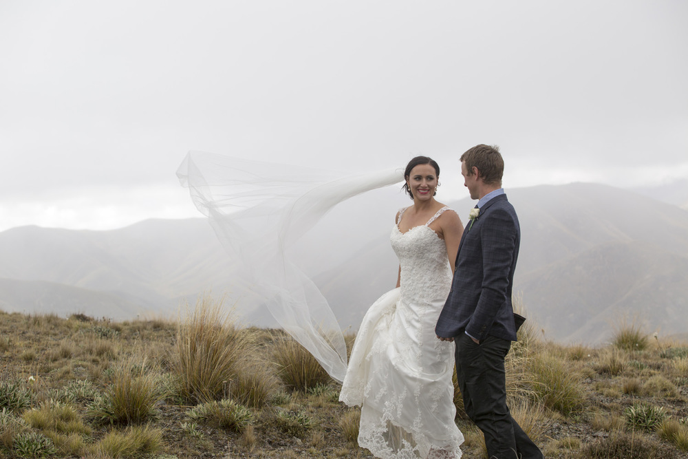 Long veil | Astra Bride Jess | Hanmer Springs Wedding | Maggie Sottero Emma gown | Photographer Simply Inspired Photography |