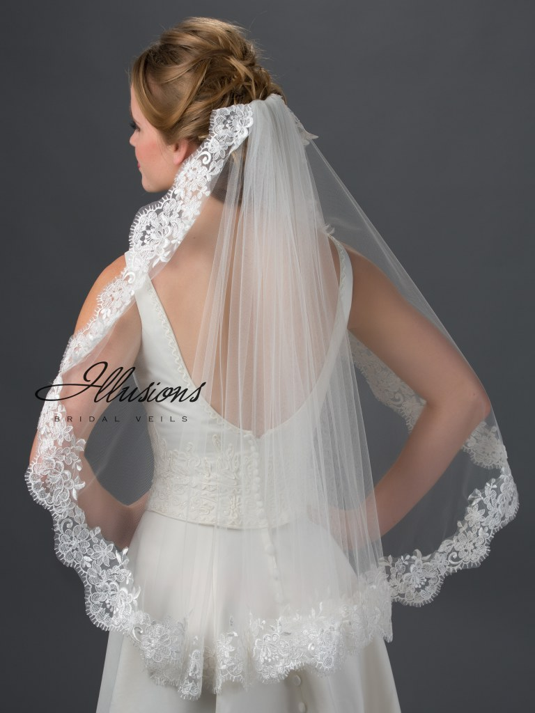 Veil lengths | www.astrabridal.co.nz | Elbow length veil