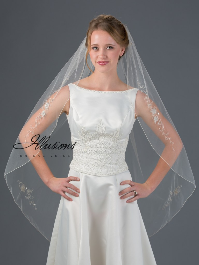 Veil lengths | www.astrabridal.co.nz | Fingertip veil