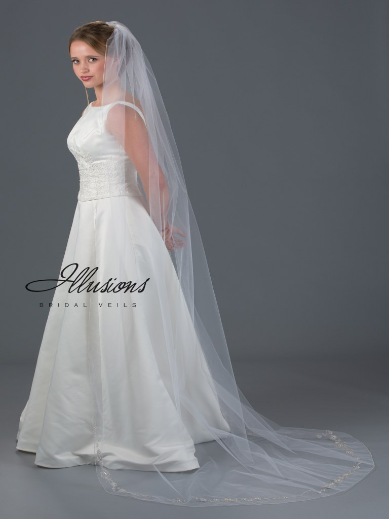 Veil lengths | www.astrabridal.co.nz | Floor and longer