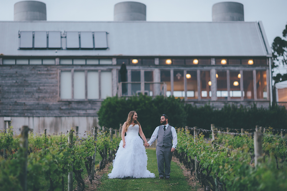Mahurangi River Winery | Astra Bride Kirsty | Christina Rossi Gown | Greg Campbell Wedding Photography