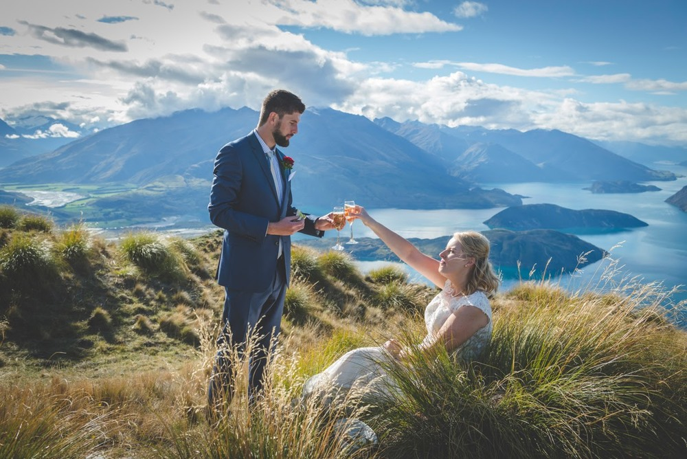 Southern Lakes | Astra Bride Annette | Sottero and Midgley dress | Wanaka wedding | Rich Bayley Photography