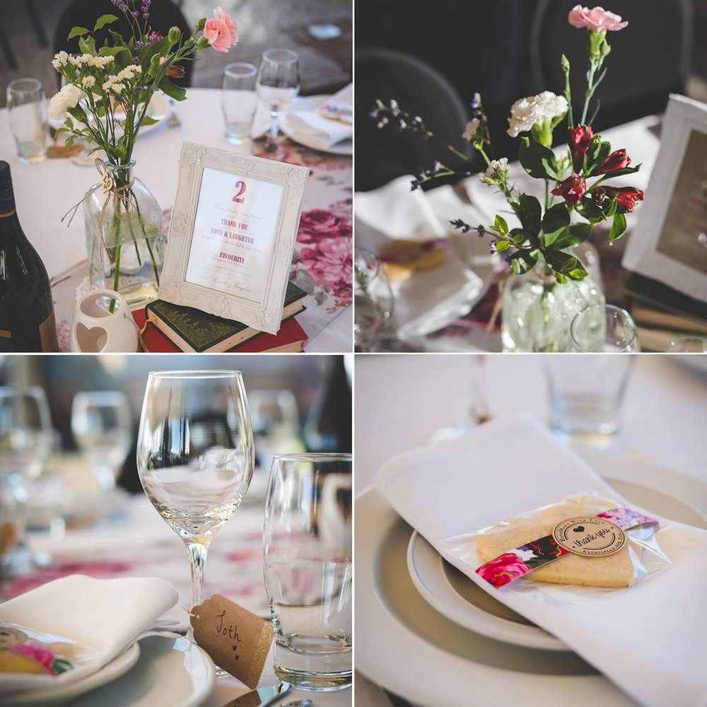 Table settings | Astra Bride Annette | Sottero and Midgley dress | Wanaka wedding | Rich Bayley Photography