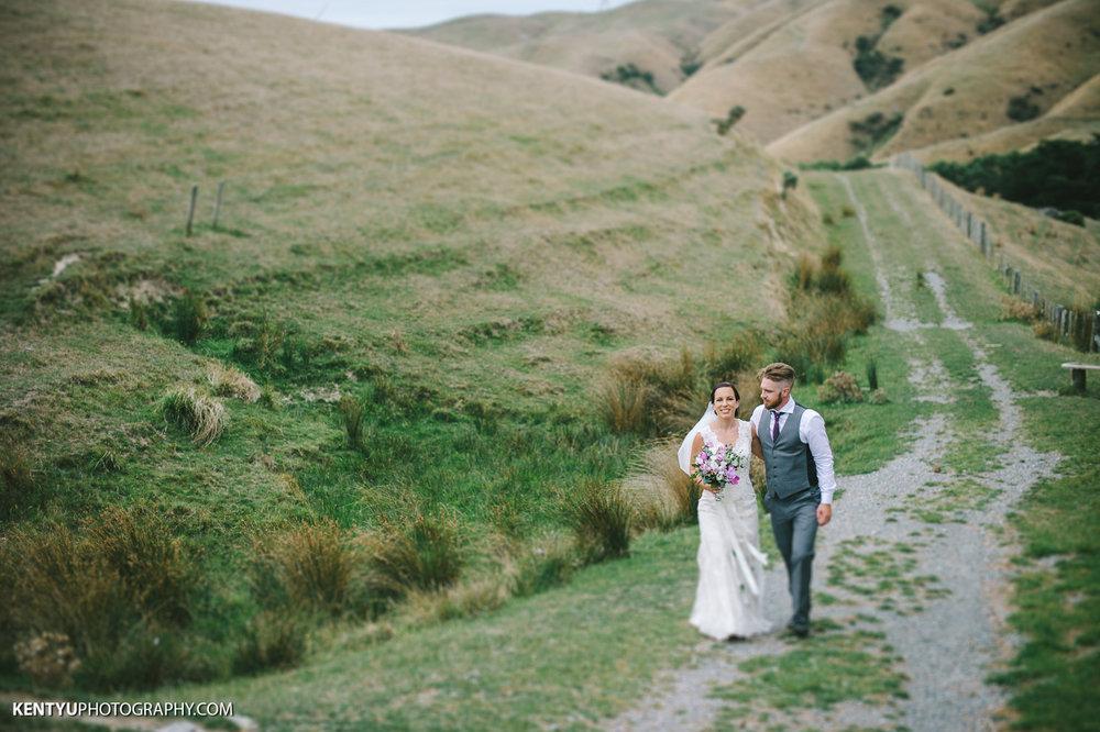 Ohariu Farm | Astra Bride Karla | Maggie Sottero Melanie | Kent Yu Photography |