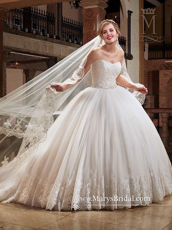 Marys Bridal 6394
