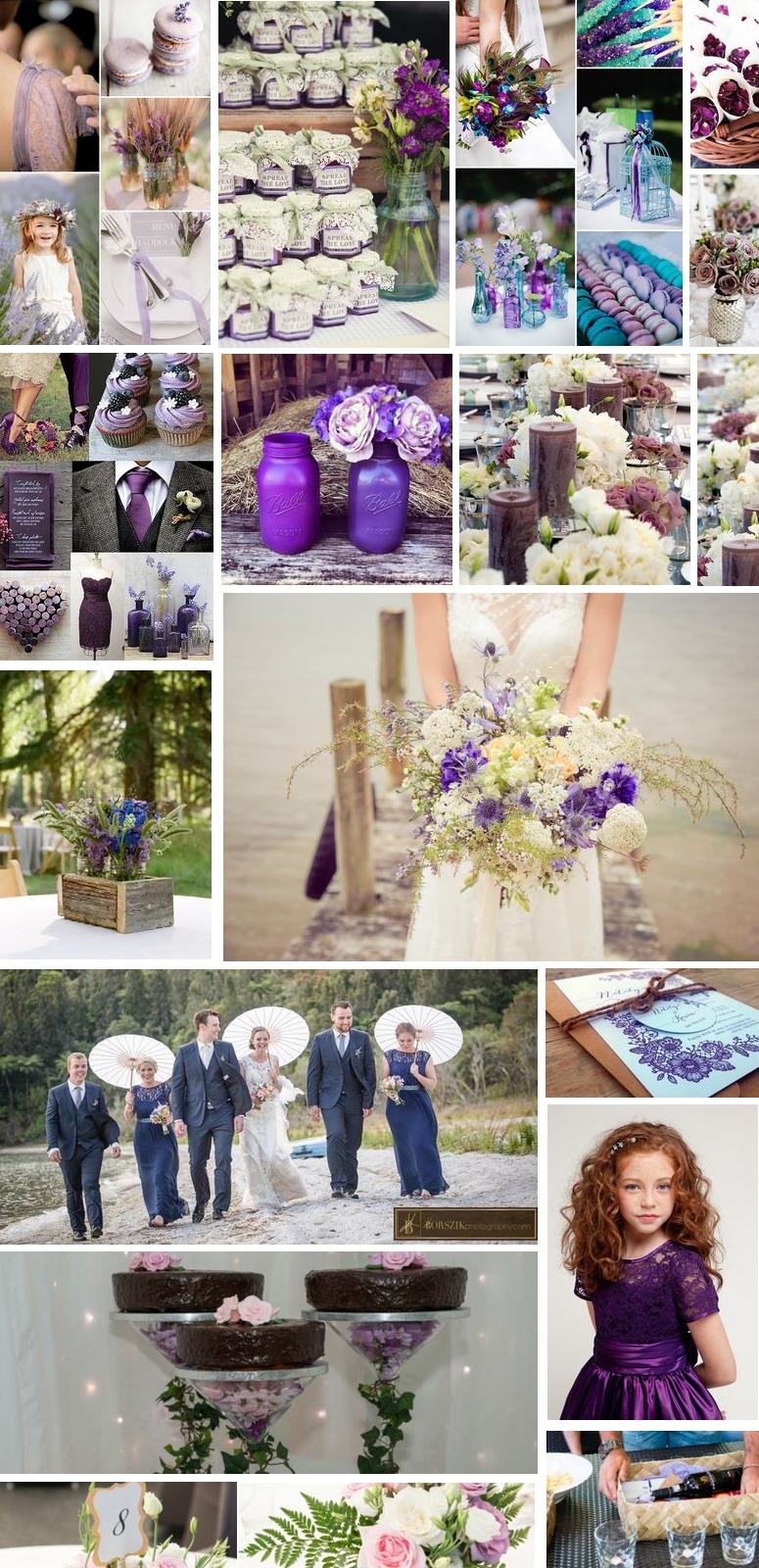 Purple-vintage-wedding
