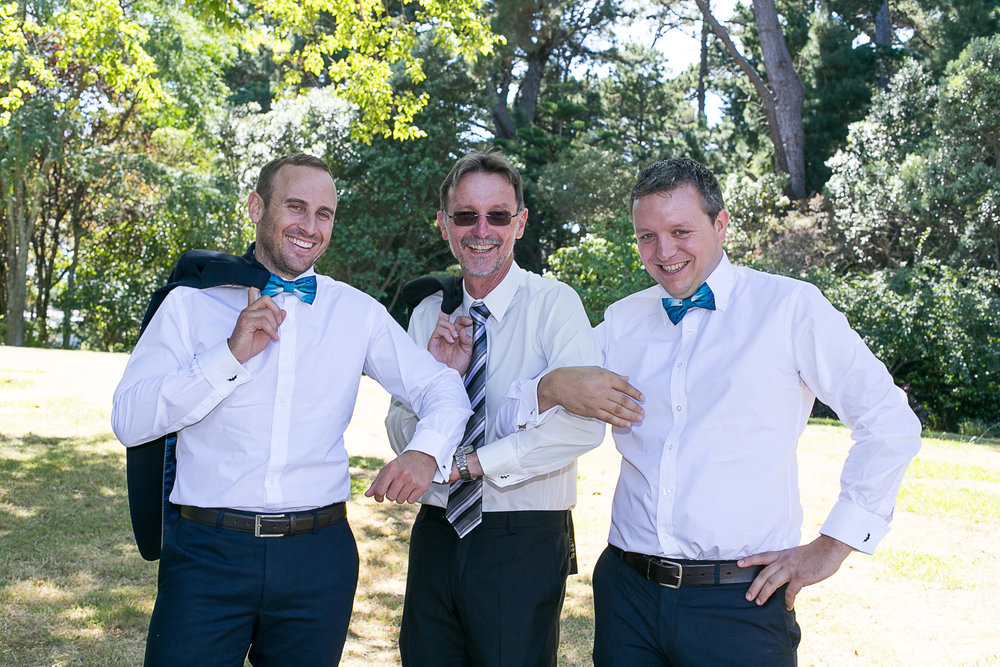 The Groom and Groomsmen | Astra Bride Kimberly | Maggie Sottero Londyn | Gear Homestead | Von Photography |