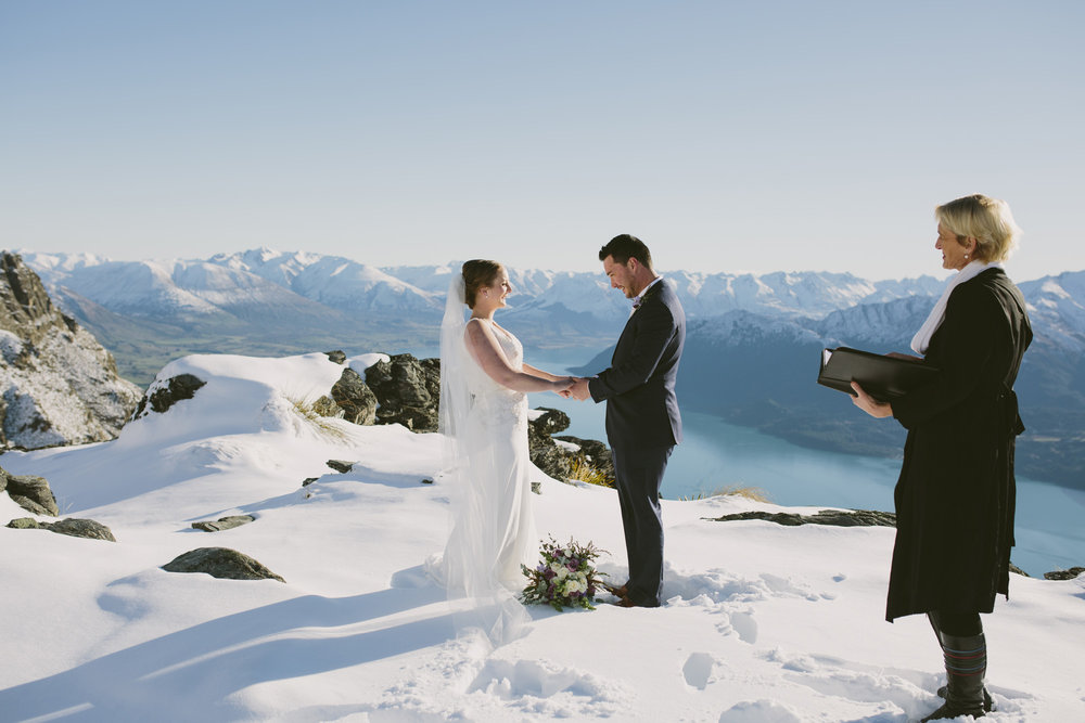 Southern Alps vows | Astra Bride Rebekah | Maggie Sottero Gemma | Photography Alpine Images |