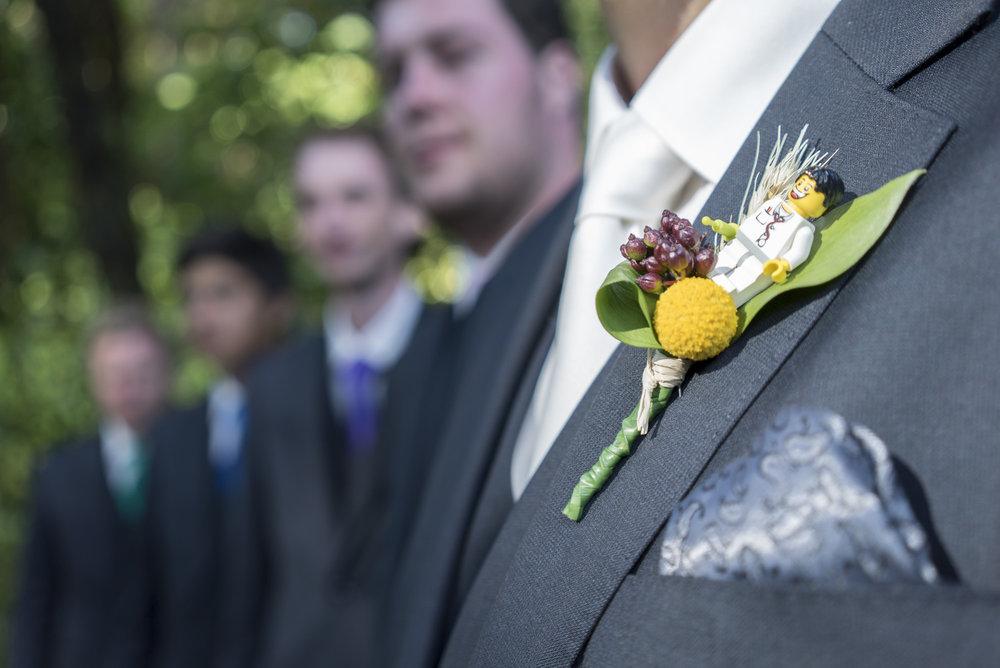 Buttonholes | Astra Bride Jo | Bonny 229 | Taranaki wedding | Photography by Mark Bellringer |