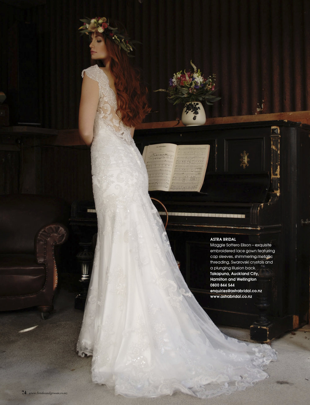 Maggie Sottero Elison | Available in White, Ivory and Antique Ivory |