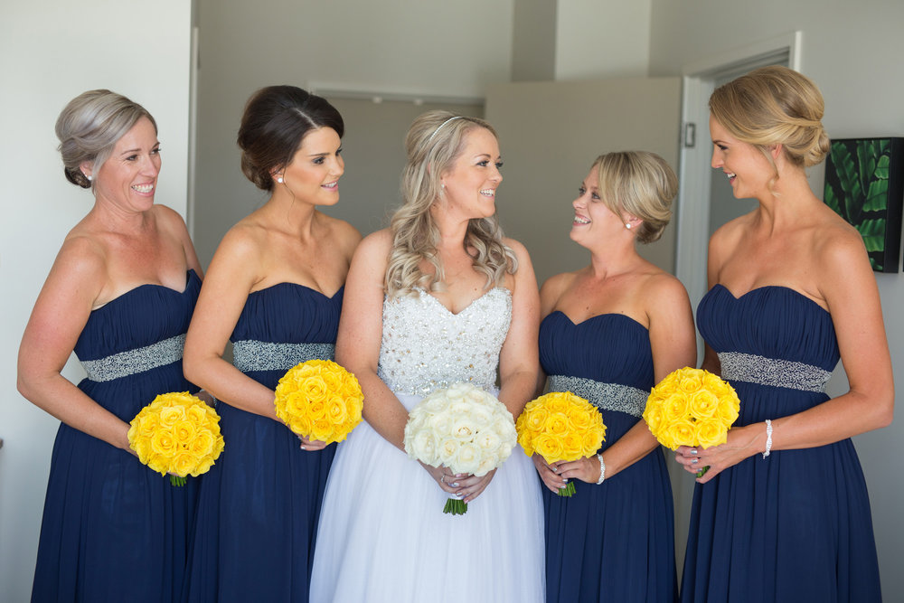 From the beginning Deborah told us her colours were, Navy Blue, Daffodil yellow, White and Sparkles.