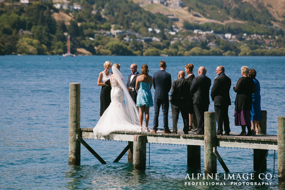 Astra Bride Hannah | Lakeside wedding | Maggie Sottero Cassandra | Small intimate ceremony |