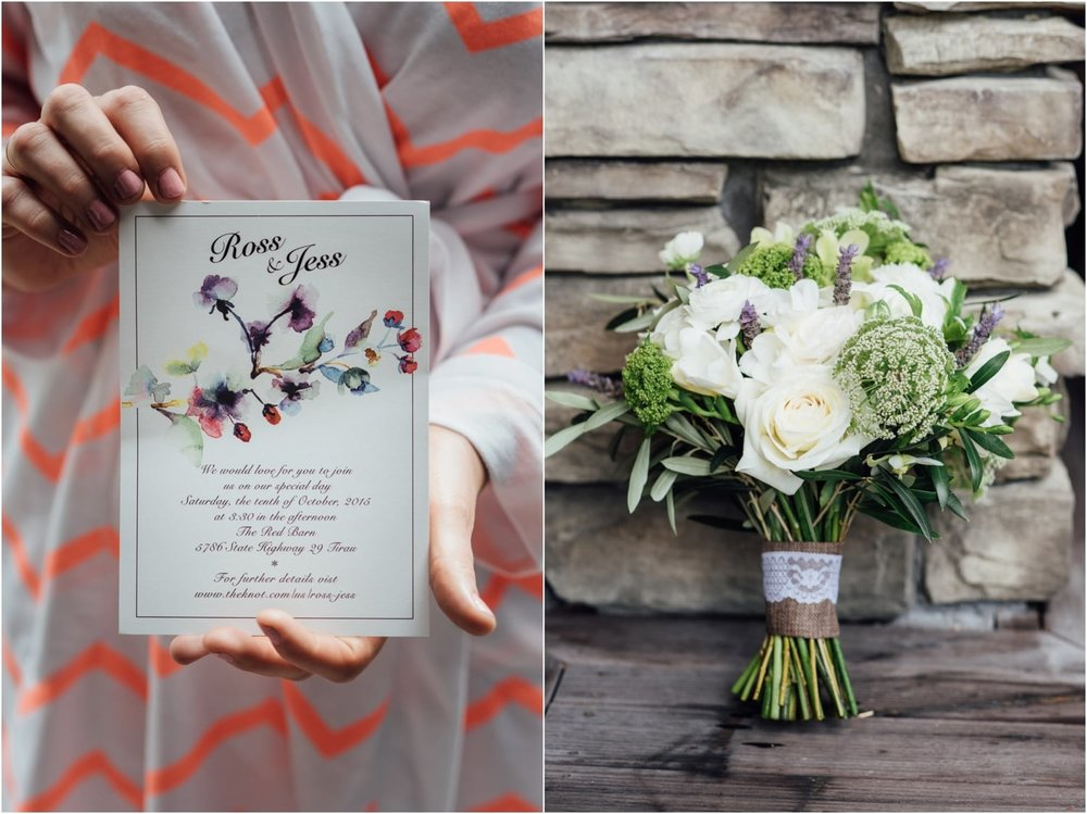 Astra Bride Jessica | Maggie Sottero Londyn | Red Barn Waikato | Photography by Tiffany Curtis | Invitations and flowers |