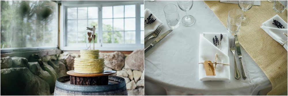 Astra Bride Jessica | Maggie Sottero Londyn | Red Barn Waikato | Photography by Tiffany Curtis | Rustic tables and cake |