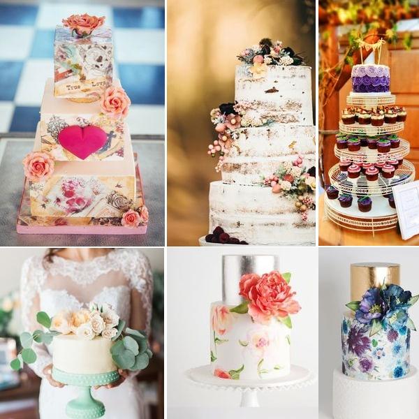Wedding cakes | www.borrowedandblue.kiwi