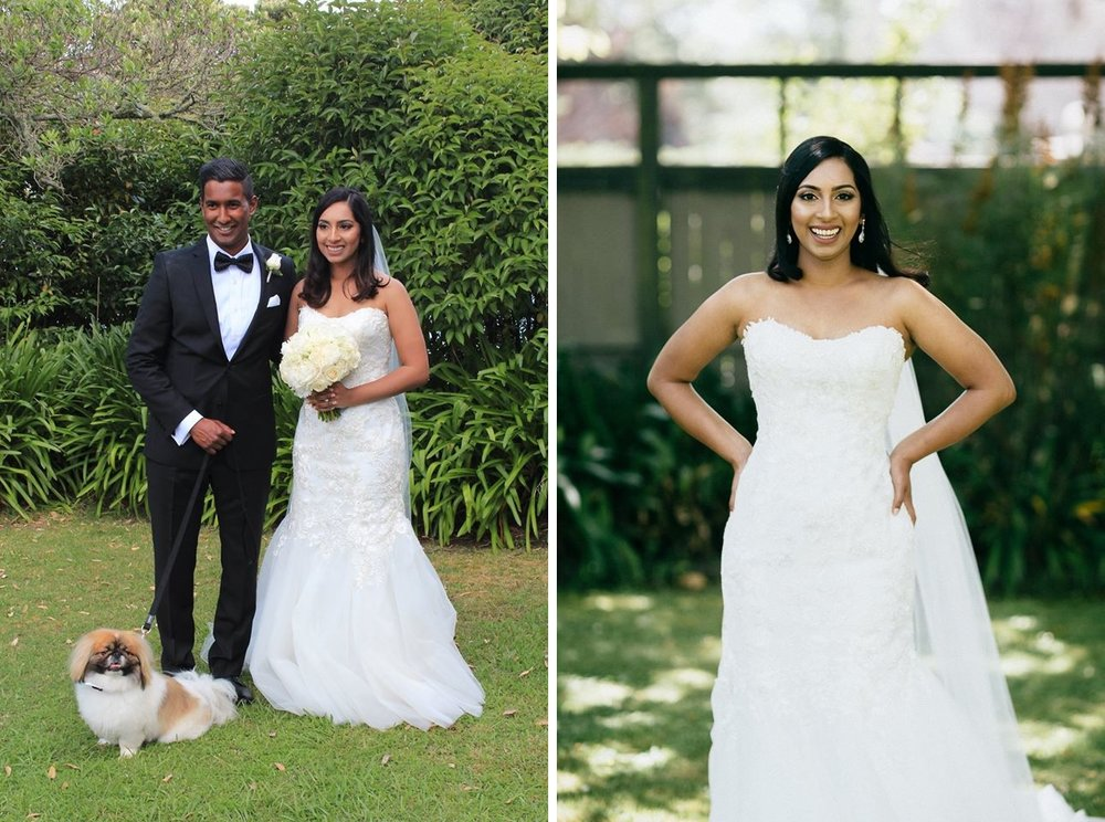 Astra Bride Sanacha's city chic wedding | Gown from Astra Bridal | Inspiration from www.borrowedandblue.kiwi