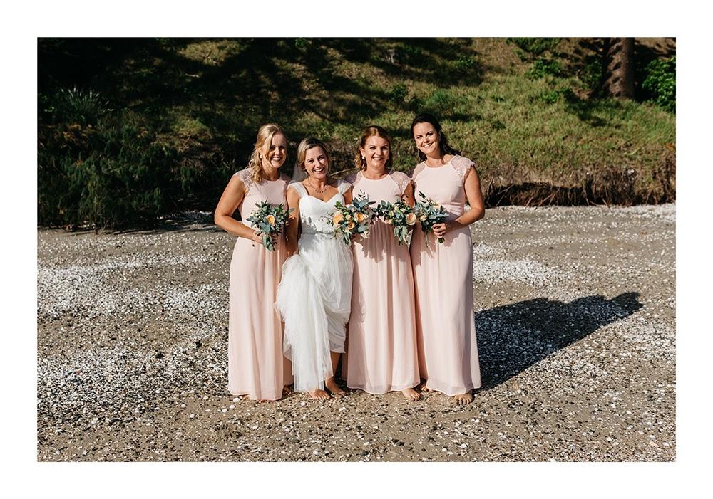Astra Bride Nadine | Nautical Wedding | Maggie Sottero Patience | Photographer Justin Aitken | Blush Bridesmaids |