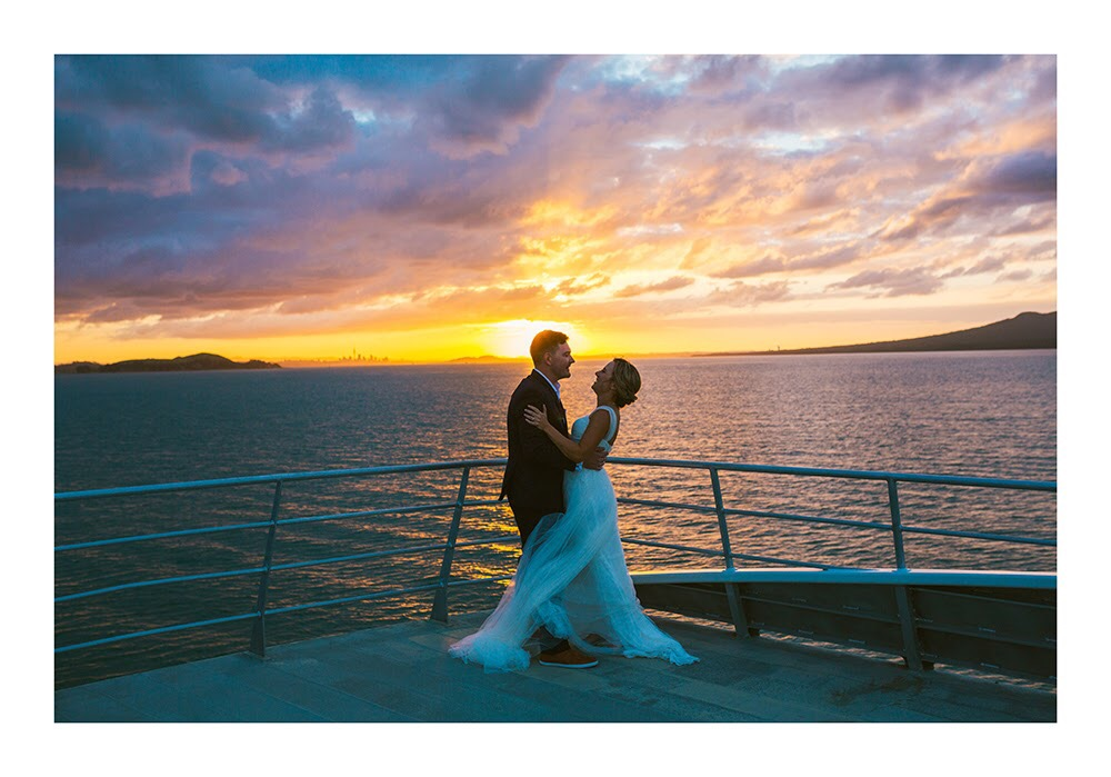 Astra Bride Nadine | Nautical Wedding | Maggie Sottero Patience | Photographer Justin Aitken | Beautiful Sunset |