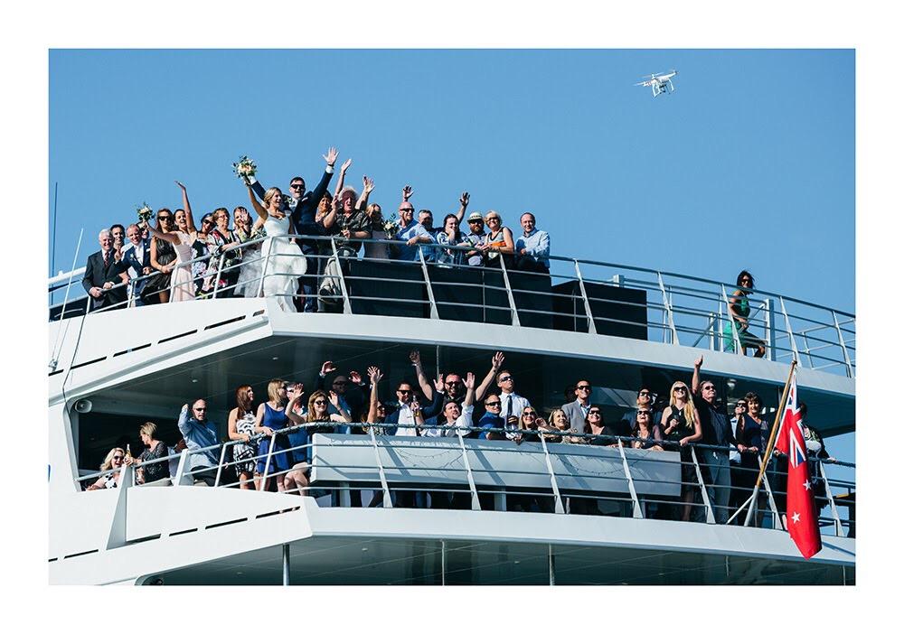 Astra Bride Nadine | Nautical Wedding | Maggie Sottero Patience | Photographer Justin Aitken | Ipipiri launch |