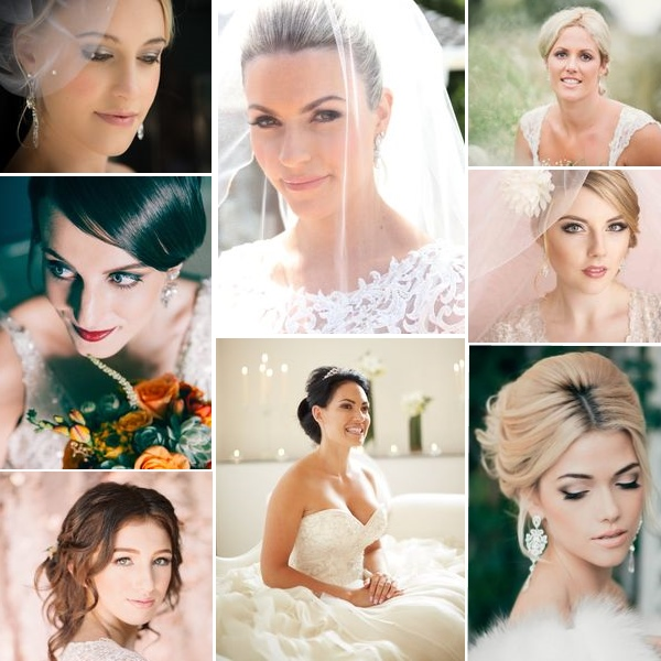 Makeup wedding inspiration | found for you by www.borrowedandblue.kiwi and www.astrabridal.co.nz
