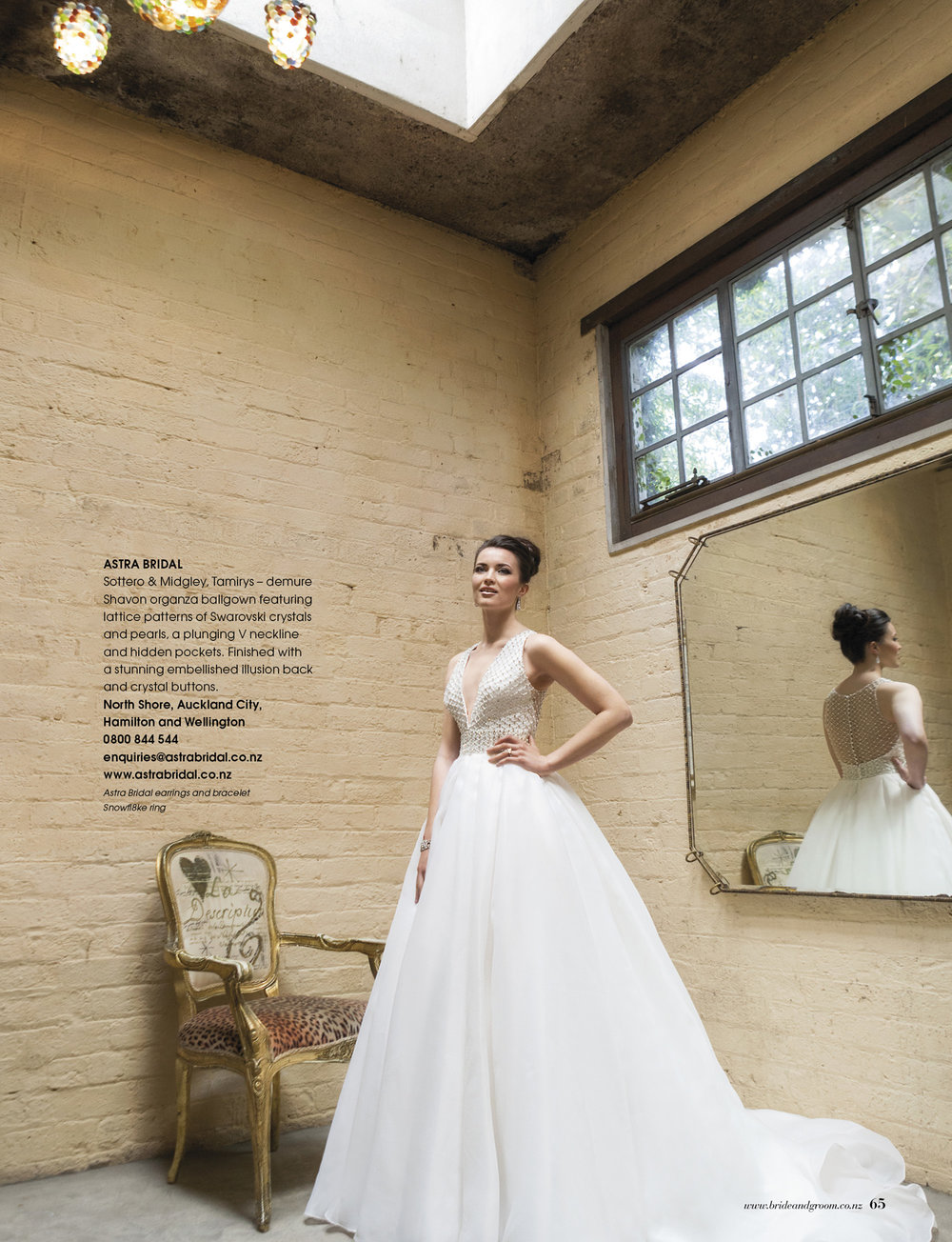 Tamirys from Sottero & Midgley | Issue 91 Bride and Groom Magazine | Available from Astra Bridal |