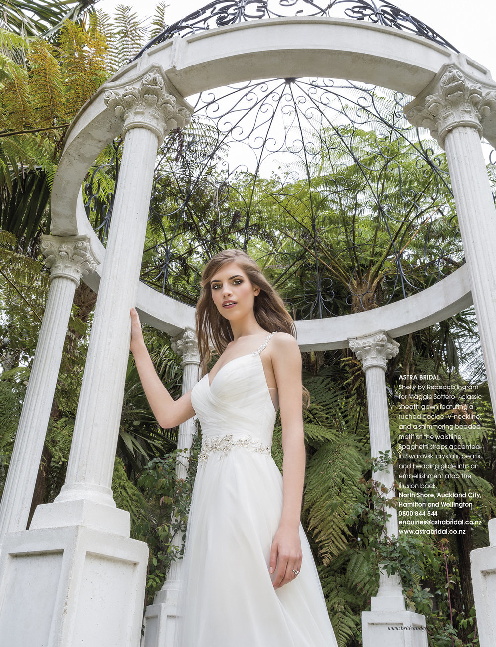Shelley from Rebecca Ingram | Issue 91 Bride and Groom Magazine | Available from Astra Bridal |