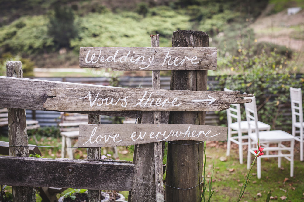 Welcome sign |Astra Bride Sabine | Bonny Gown | Boho Garden Wedding | Boutique Barn Puhoi | Photography by So This is Love |